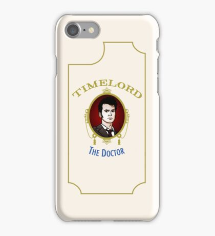 Dr. Who - Timelord - Tenth Doctor (Variant) iPhone Case/Skin