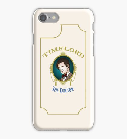 Dr. Who - Timelord - Eleventh Doctor (Variant) iPhone Case/Skin