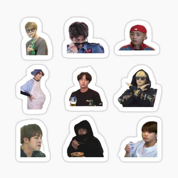 Ultimate BTS Meme Sticker Pack Version 3 Bt21 Sticker
