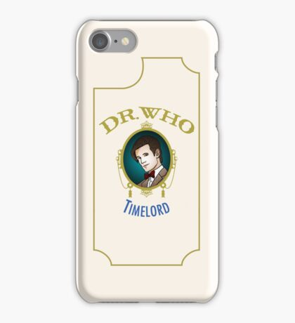 Dr. Who - Timelord - Eleventh Doctor iPhone Case/Skin