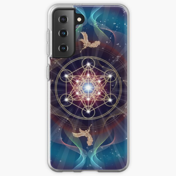 Metatron's Cube - Merkabah - Peace and Balance Samsung Galaxy Soft Case