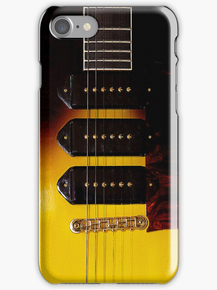 Strumming (iPhone & iPod case) by Janice Chiu