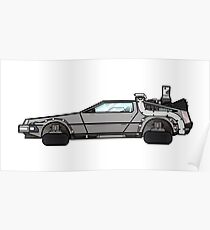 NOW IS THE FUTURE - Delorean 2015 Poster