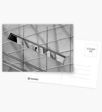 Slotted in design Postcards