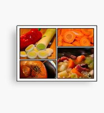 Vegetable Canvas Print
