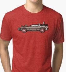 NOW IS THE FUTURE - Delorean 1955 Tri-blend T-Shirt