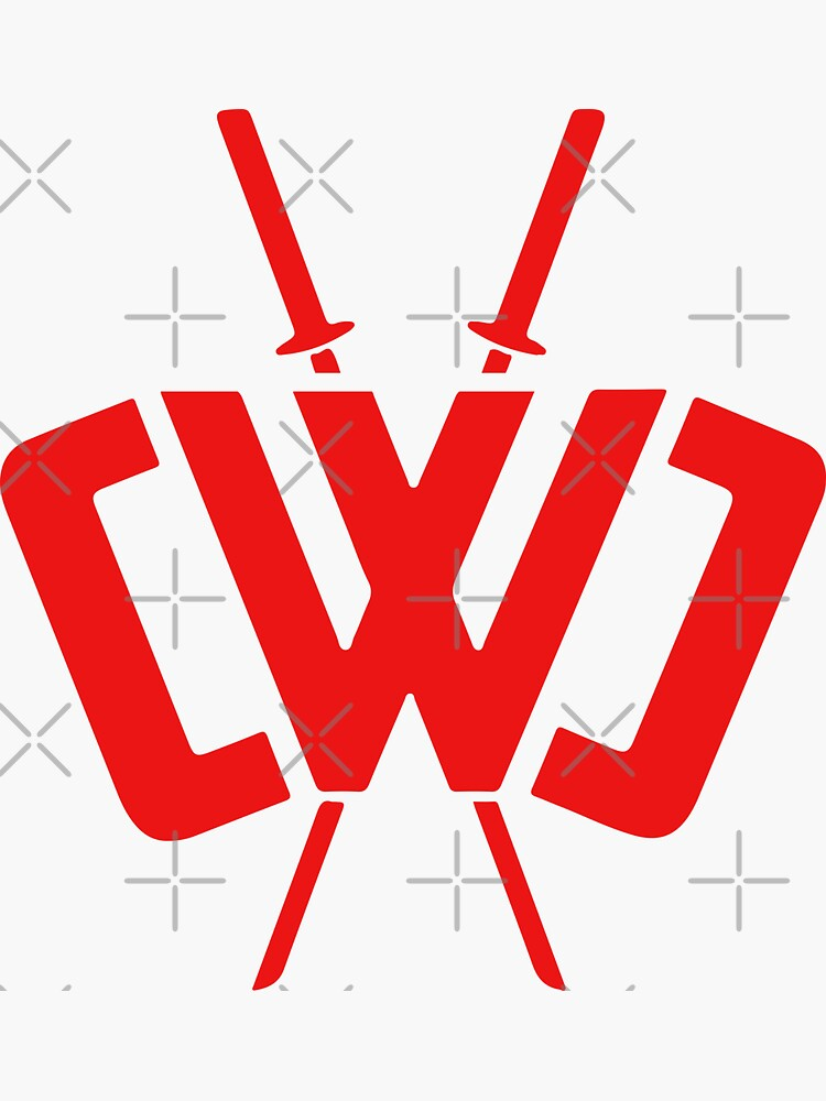 """""""Chad Wild Clay CWC V2"""" Sticker by keemaridxn 