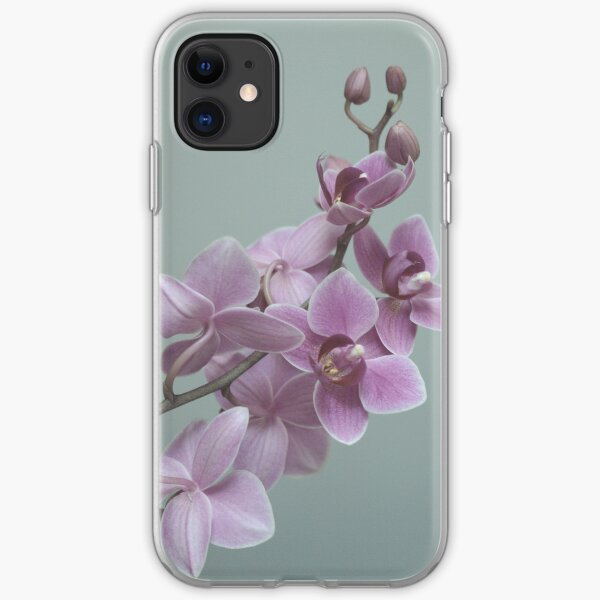 Orchid  composition iPhone Soft Case