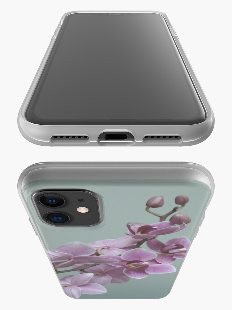 Alternate view of Orchid  composition iPhone Case & Cover