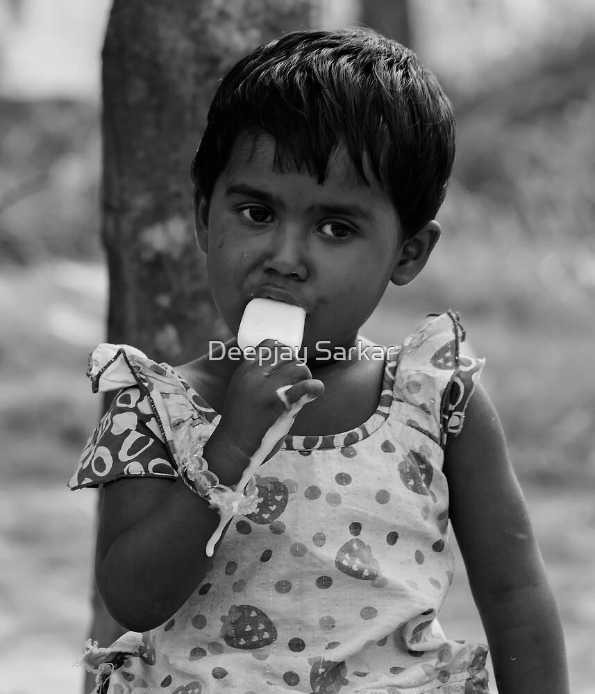 Test of ice by Deepjay Sarkar