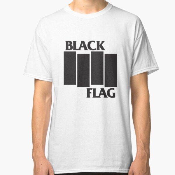 Black Flag Band Logo Classic T-Shirt