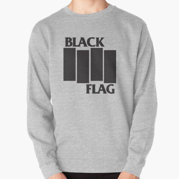Black Flag Band Logo Pullover Sweatshirt