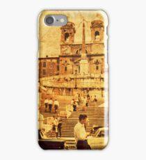 Vintage Spanish Stairs i Phone Case iPhone Case/Skin
