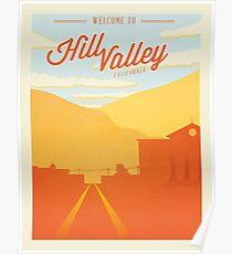 Back to the Future - Welcome To Hill Valley  Poster