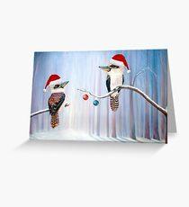 The Christmas Party - Kookaburras Greeting Card