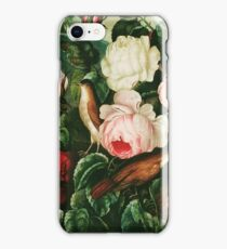 Bird, a Detail from a Plate from The Temple of Flora (1805) iPhone Case/Skin