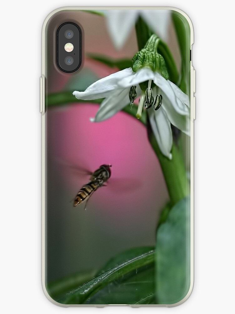 Bee Happy iPhone/iPod Case Cover by Monica M. Winkler