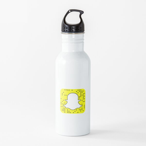 snapchat t-shirts Water Bottle
