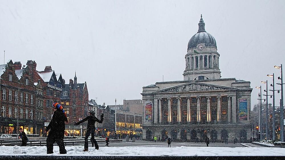 Square Snow by Alexander Bampton