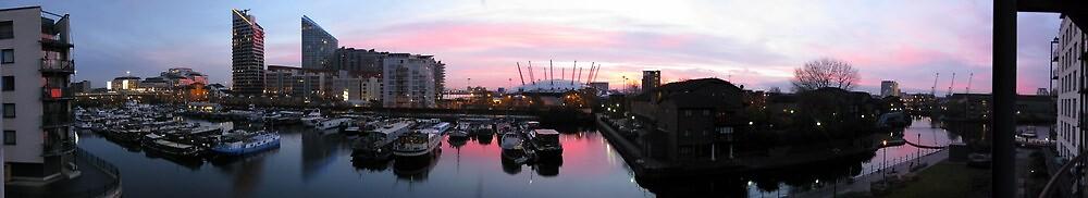 Poplar Marina, London by mapanet