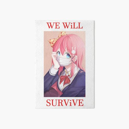 We will survive - heads up! Art Board Print