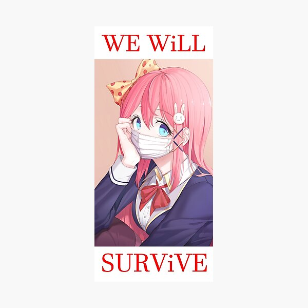We will survive - heads up! Photographic Print