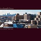 View of Cleveland from atop the Tudor Arms by Bob Perkoski