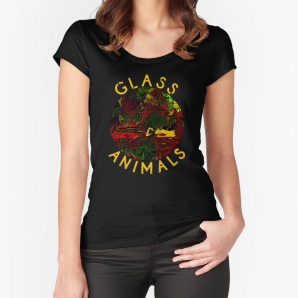 Glass Animals Fitted Scoop T-Shirt
