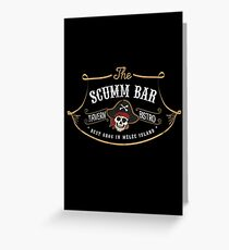 The Scumm Bar Greeting Card