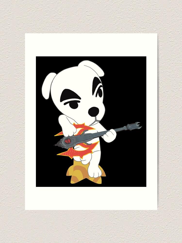 Kk Slider Animal Crossing Doom Eternal Art Print By Ashreeeee