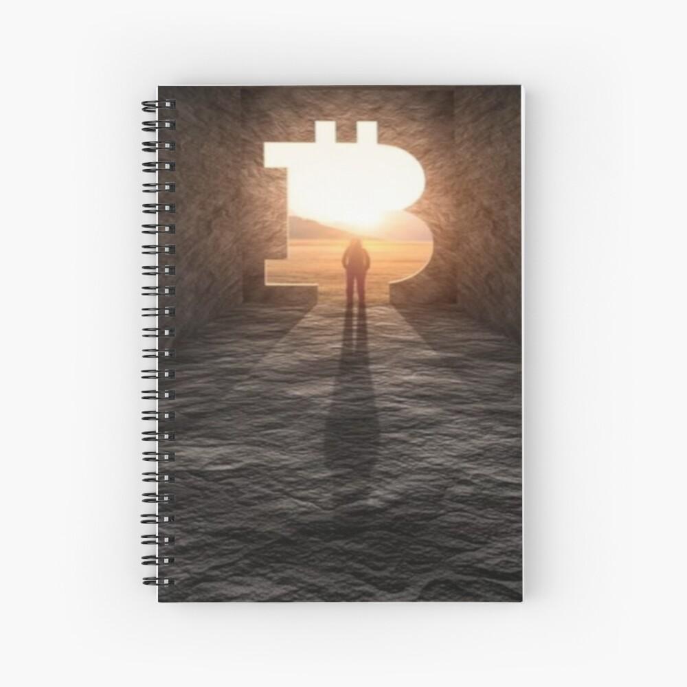 Nuevo horizonte bitcoin Cuaderno de espiral