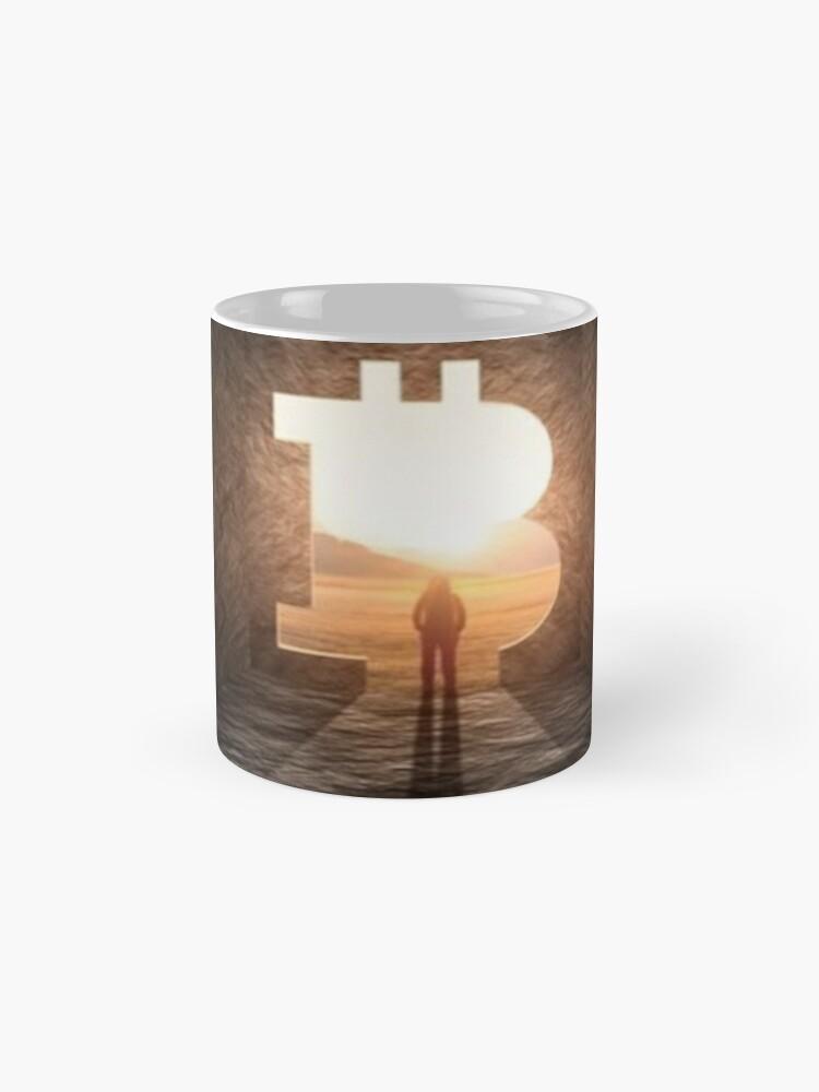 Vista alternativa de Taza Nuevo horizonte bitcoin
