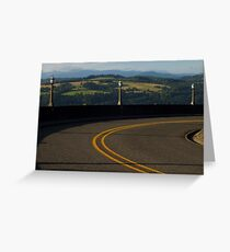 Scenic Road Greeting Card