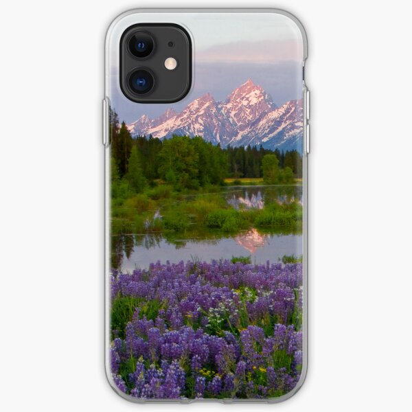 Lupine Explosion iPhone4 case (for resale) iPhone Soft Case