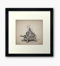 Tortoise Town Framed Print