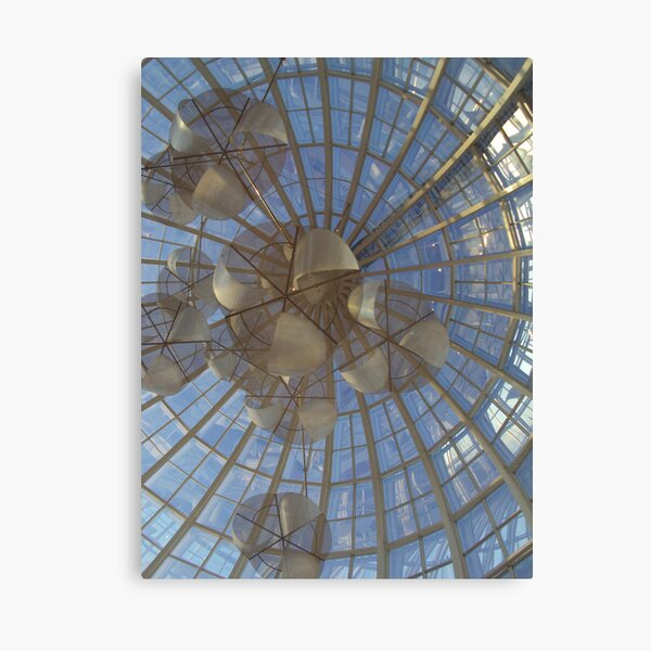 Livingston abstract Canvas Print