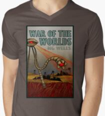 War of the Worlds Men's V-Neck T-Shirt