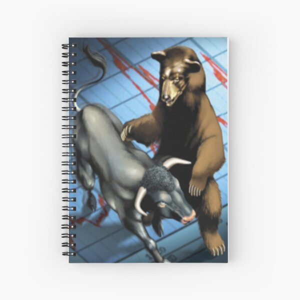 Trading osos e toros Cuaderno de espiral