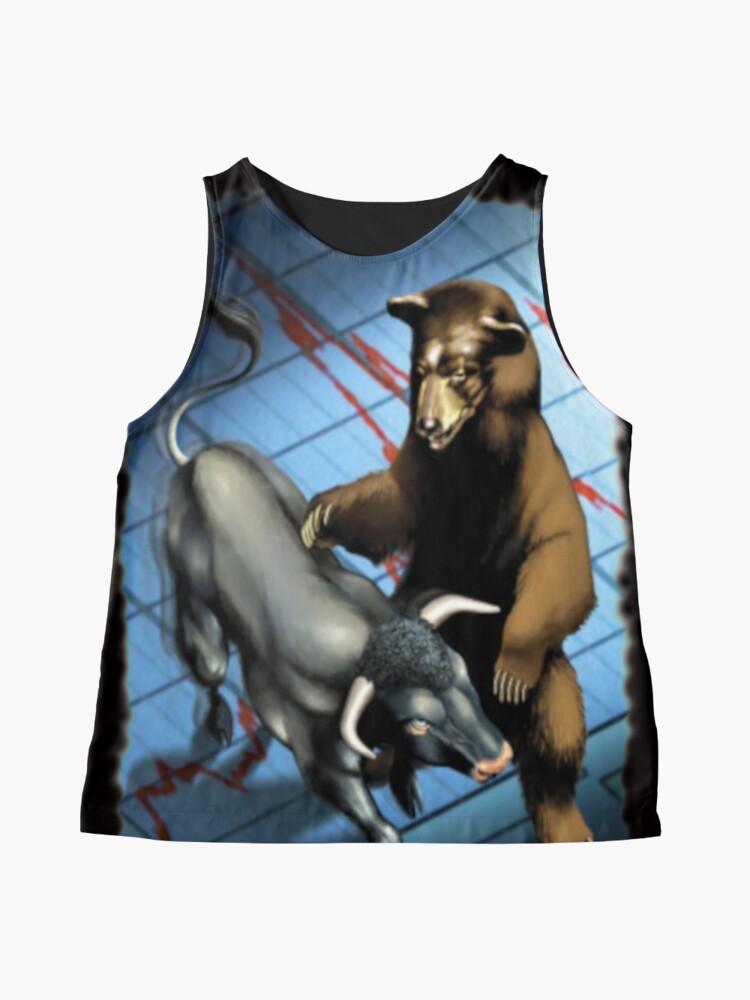 Vista alternativa de Blusa sin mangas Trading osos e toros