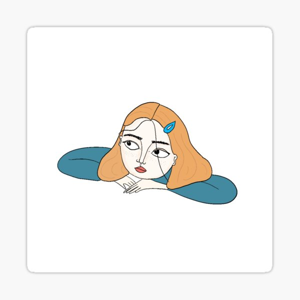 Rêveuse Sticker