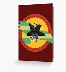 Firefly...Lest We Forget (Firefly/Serenity) Greeting Card