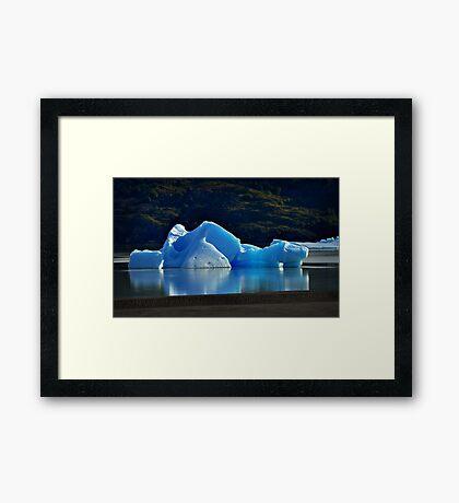 Iceberg Framed Print