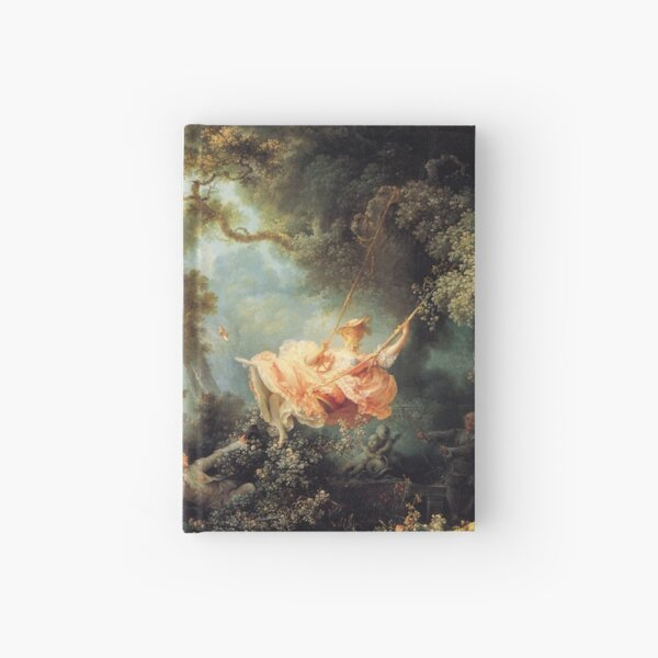 The Swing by Jean-Honoré Fragonard Hardcover Journal