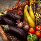 Food - Vegetables - From mother's garden by Michael Savad