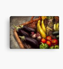 Food - Vegetables - From mother's garden Canvas Print