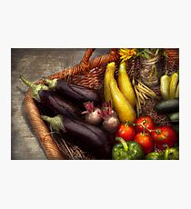 Food - Vegetables - From mother's garden Photographic Print