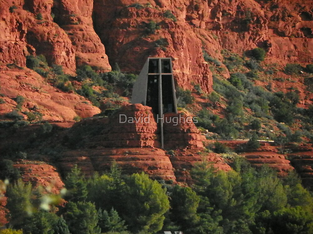 Chapel of the Holy Cross by David  Hughes