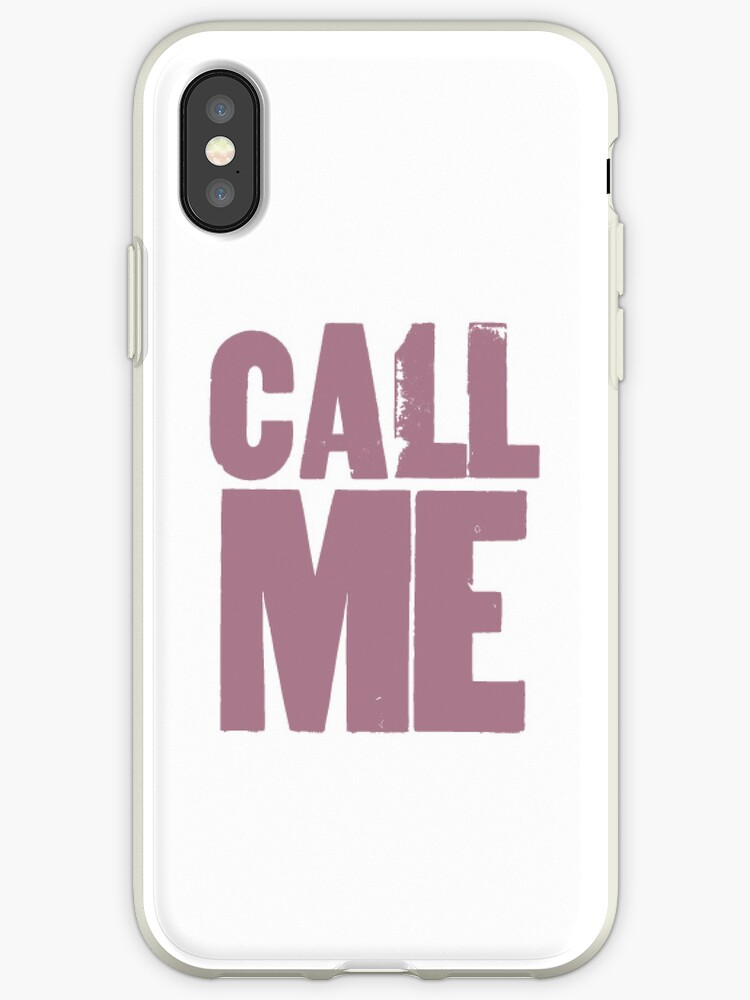 CALL ME by cumbersome multiples