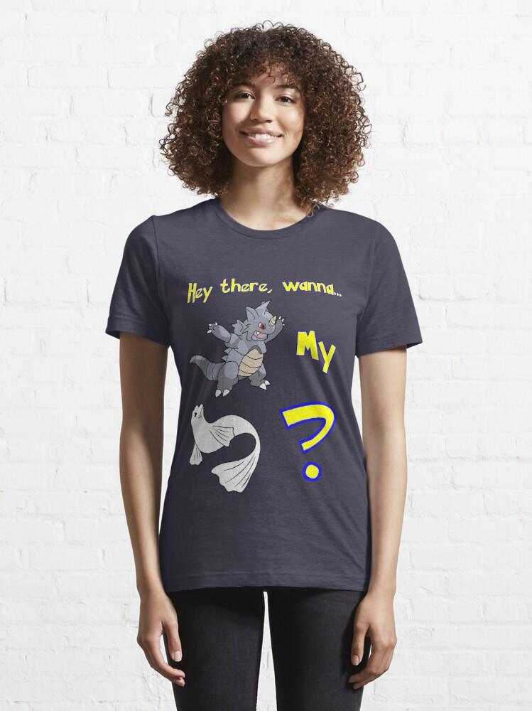 Alternate view of Pokemon Pickup Line Essential T-Shirt