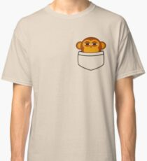 Pocket monkey is highly suspicious Classic T-Shirt